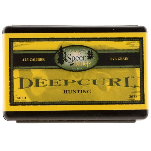 Speer DeepCurl .475 275-Grain Hollow Point Handgun Bullets
