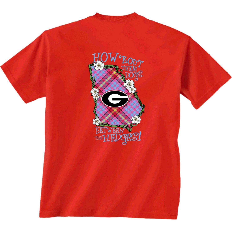 New World Graphics Women's University of Georgia Bright