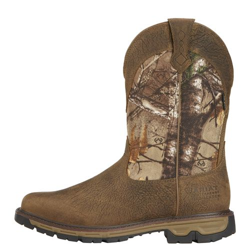 Ariat Men's Conquest H2O Hunting Boots (Ash Brown, Size 8) - Hunting Boots at Academy Sports thumbnail