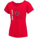 Colosseum Athletics Girls' University of Louisiana at Lafayette T-shirt