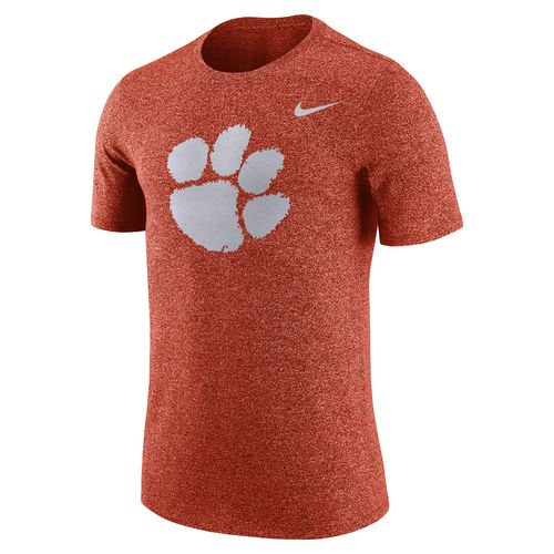 Nike Men's Clemson University Marled Logo T-shirt