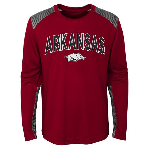 NCAA Boys' University of Arkansas Ellipse T-shirt