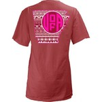 Three Squared Juniors' University of Arkansas Moonface Vee T-shirt