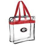 Forever Collectibles™ University of Georgia Clear Messenger Bag - view number 1
