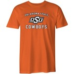 Image One Men's Oklahoma State University Arch Logo Comfort Color T-shirt