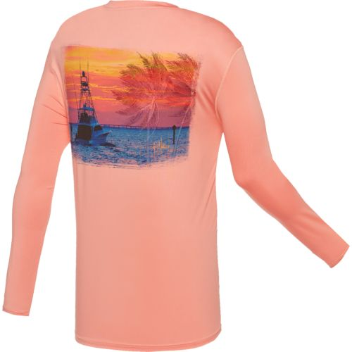 Guy Harvey Men's Pro UVX Performance Gulfstream T-shirt