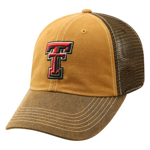 Top of the World Men's Texas Tech University Incog 2-Tone Adjustable Cap