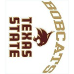 "Stockdale Texas State University 8"" x 8"" Vinyl Die-Cut Decal"