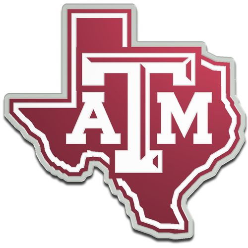Stockdale Texas A&M University Laser-Cut Auto Emblem - view number 1