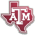 Stockdale Texas A&M University Laser-Cut Auto Emblem
