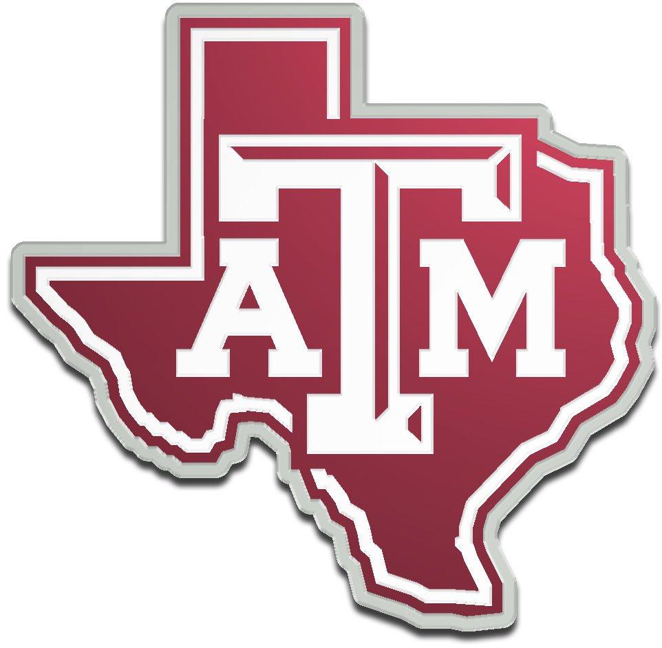 Stockdale Texas A&M University Laser-Cut Auto Emblem