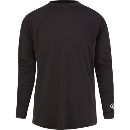 Rawlings Young Men's Long Sleeve Performance Shirt