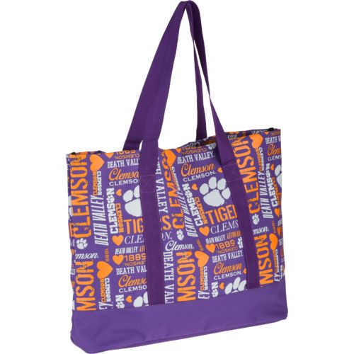 Forever Collectibles™ Women's Clemson University Tote Bag