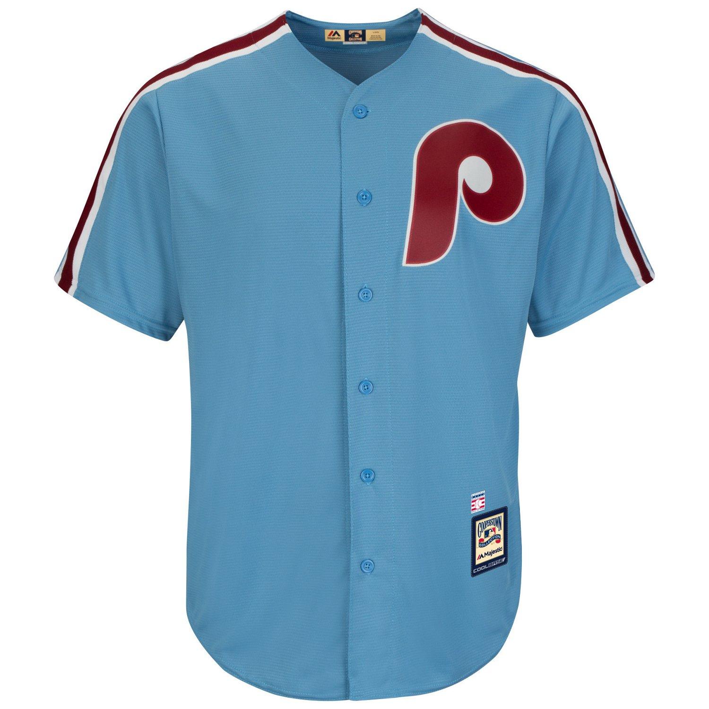 Majestic Men's Philadelphia Phillies Joe Morgan #8 Cool Base Cooperstown Jersey - view number 3