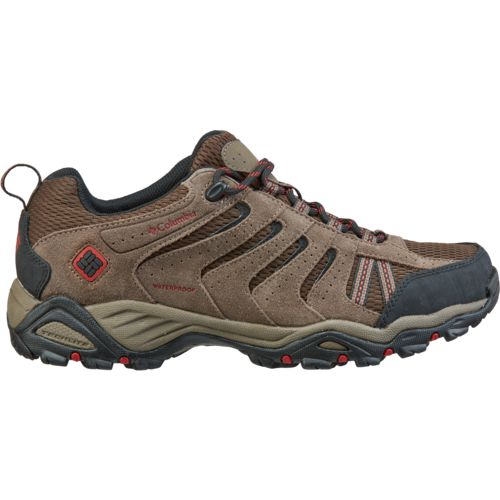 Columbia Sportswear Men's North Plains II Waterproof Leather Low Top Trail Hiking Shoes