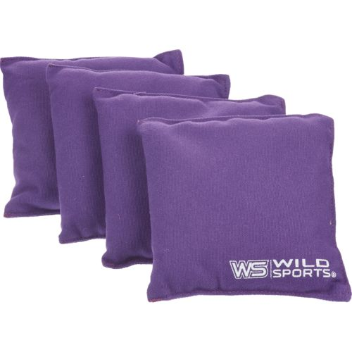 Wild Sports Authentic Cornhole Beanbags 4-Pack