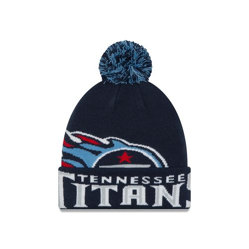 New Era Men's Tennessee Titans NFL16 Colossal Knit Cap