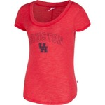 Venley Women's University of Houston Logo Slub Crew Neck T-shirt - view number 1