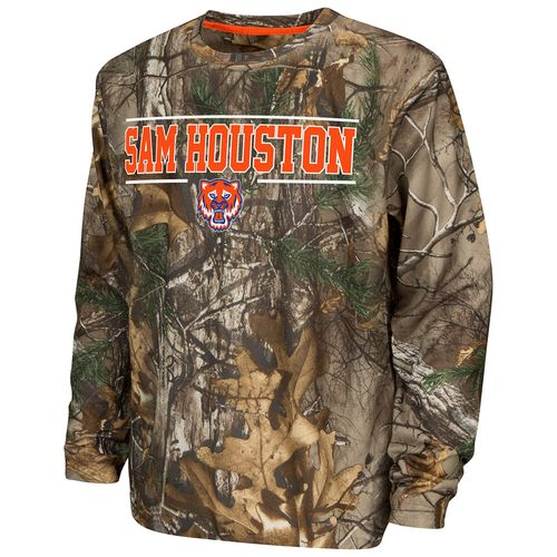 Colosseum Athletics™ Boys' Sam Houston State University Pointer Long Sleeve Camo Shirt