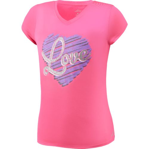 BCG Girls' Turbo Graphic Training T-shirt