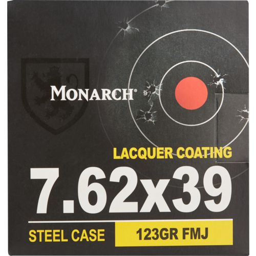 Monarch 7.62 x 39mm Soviet 123-Grain Rifle Ammunition