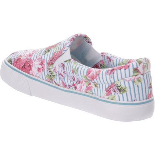 Austin Trading Co. Girls' Ava Floral Stripe Shoes - view number 3