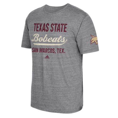 adidas Men's Texas State University Stenciled Sweep T-shirt
