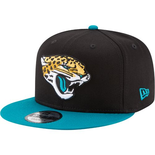 New Era Men's Jacksonville Jaguars 9FIFTY Baycik Snapback Cap