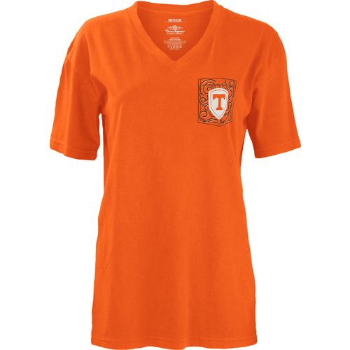 Three Squared Juniors' University of Tennessee Anchor Flourish V-neck T-shirt - view number 2