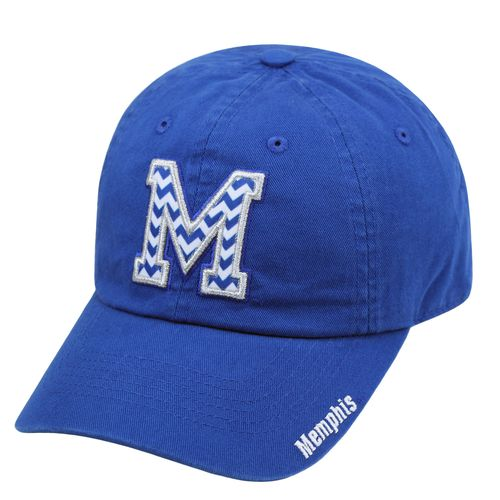 Top of the World Women's University of Memphis Chevron Crew Adjustable Cap