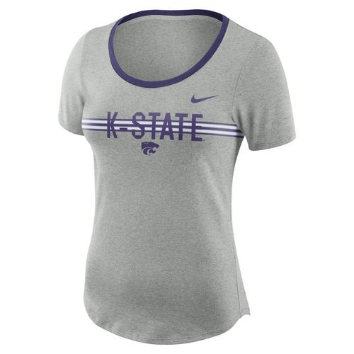 Nike™ Women's Kansas State University Dry Strike Slub T-shirt