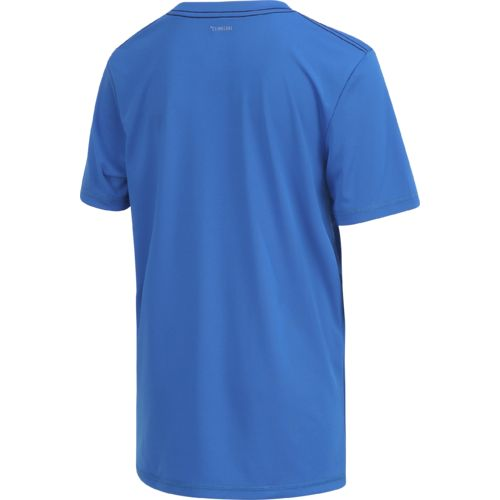 adidas Boys' climalite Badge of Sport T-shirt - view number 2