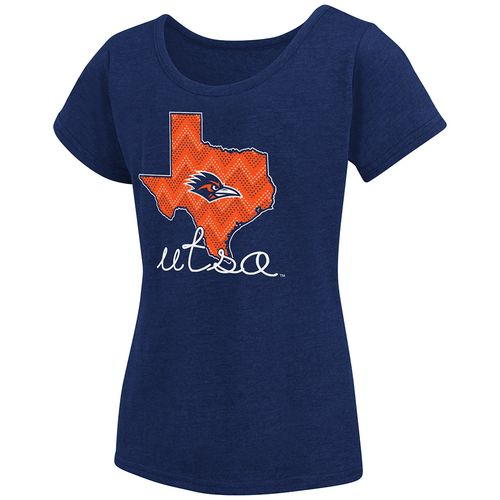 Colosseum Athletics™ Girls' University of Texas at San Antonio Tissue 2017 T-shirt