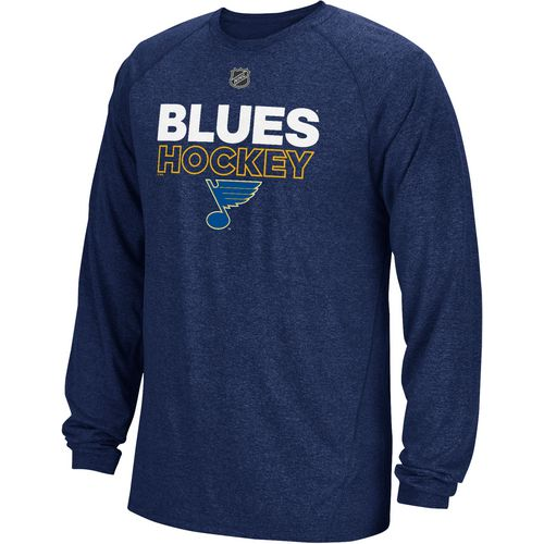 adidas Men's St. Louis Blues Authentic Ice Long Sleeve T-shirt
