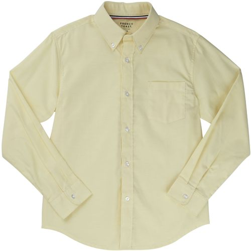 French Toast Toddler Boys' Long Sleeve Oxford Uniform Shirt