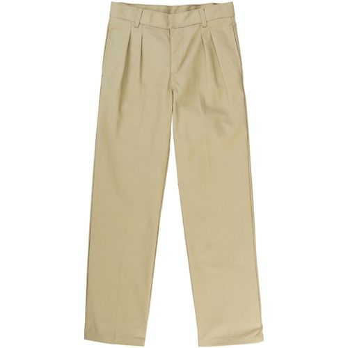 French Toast Boys' Pleated Double-Knee Uniform Pant
