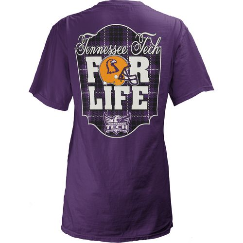 Three Squared Juniors' Texas Christian University Team For Life Short Sleeve V-neck T-shirt