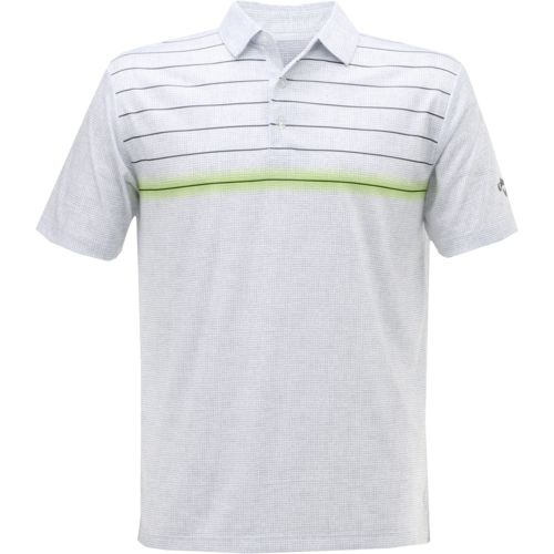 Callaway Men's Laser Stripe Performance Golf Polo Shirt