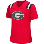 Colosseum Athletics Girls' University of Georgia Rugby Short Sleeve T-shirt - view number 1