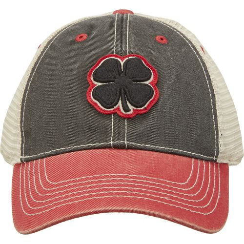 Black Clover Men's 2 Tone Vintage 4 Cap (Black/Red, Size One Size) - Men's Outdoor Apparel, Men's Hunting/Fishing Headwear at Academy Sports thumbnail
