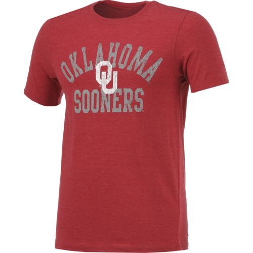 Colosseum Athletics Men's University of Oklahoma Vintage T-shirt - view number 3