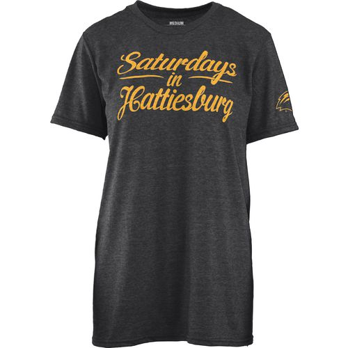 Display product reviews for Three Squared Juniors' University of Southern Mississippi Saturday T-shirt