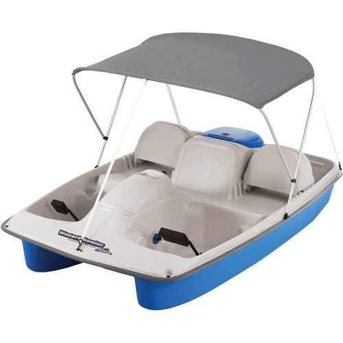 Sun Dolphin Water Wheeler ASL Electric Pedal Boat with Canopy