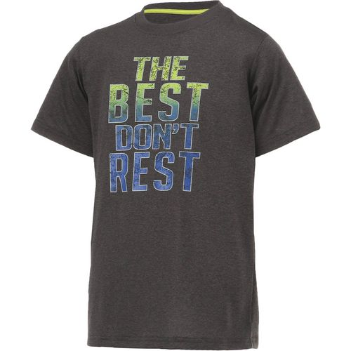 BCG Boys' The Best Don't Rest Short Sleeve T-shirt - view number 3