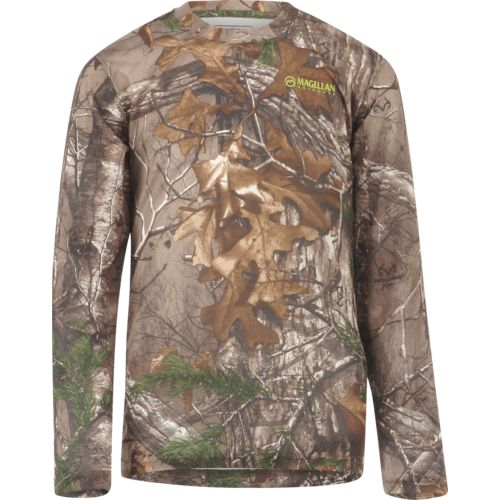 Magellan Outdoors Kids' Eagle Pass Long Sleeve Mesh Shirt - view number 1