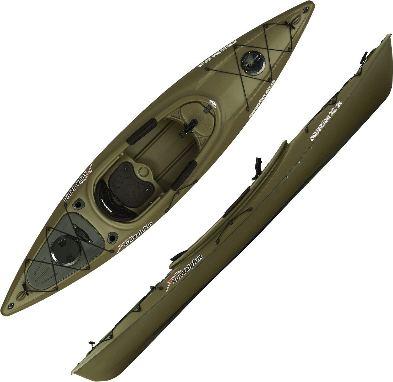Sun dolphin 10 fishing kayak usa for 12ft fishing kayak