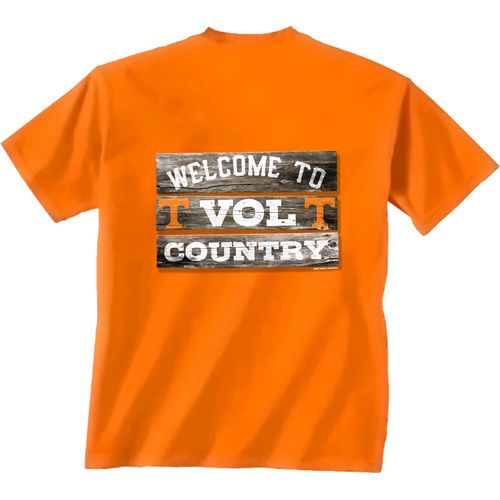 New World Graphics Men's University of Tennessee Welcome Sign T-shirt