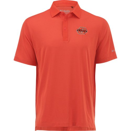 Columbia Sportswear™ Men's Oklahoma State University Omni-Wick™ Sunday Polo Shirt