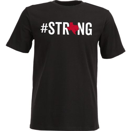 Raw State Kids' Texas Strong Black T-Shirt