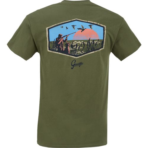 Gauge Men's Hunting Scene Graphic T-shirt